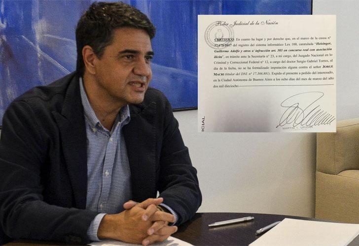 Jorge Macri, intendente de Vicente López.