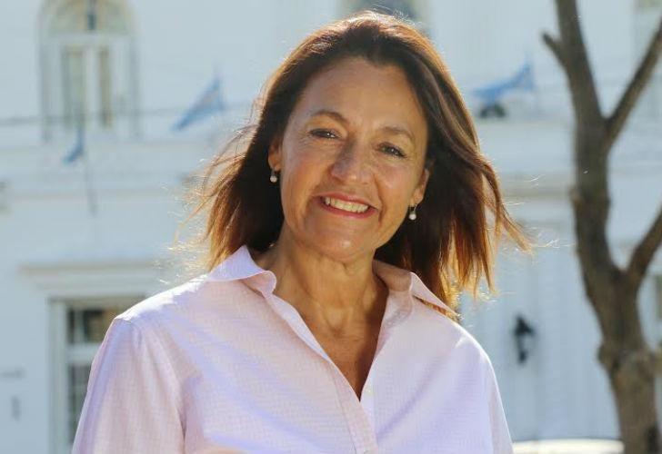 Marcela Campagnoli, legisladora del bloque de la Coalición Cívica ARI.