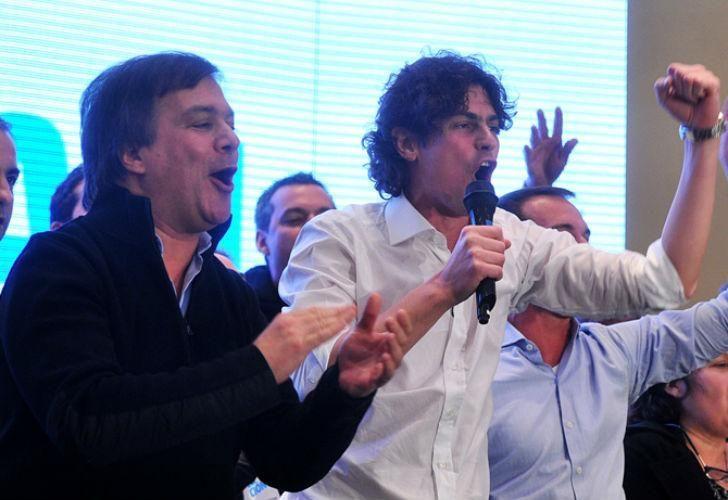 Hay tensión entre Martín Lousteau y Roy Cortina desde diciembre del año pasado.