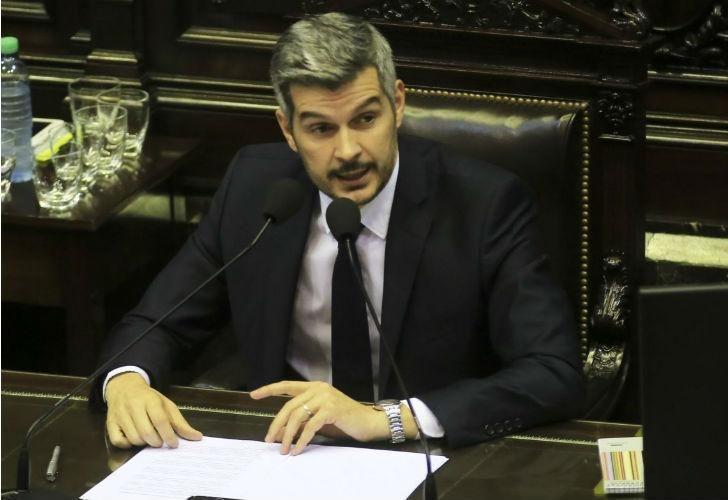 Marcos Peña se convertirá en el ministro que más veces visitó el Congreso.