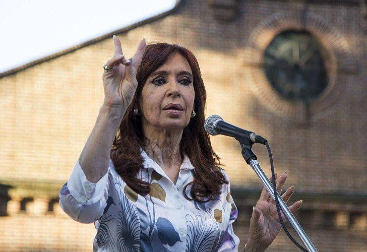 Cristina Fernández de Kirchner, ex presidenta y actual senadora.