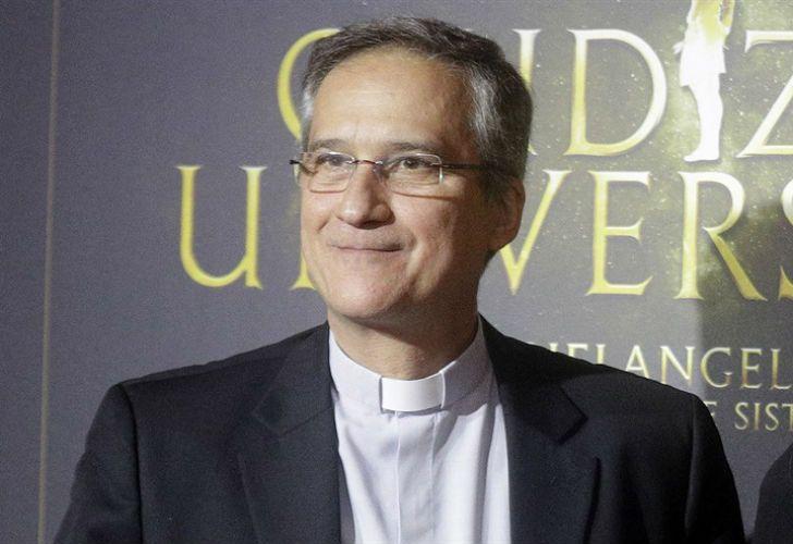 Dario Vigano, el ahora ex ministro de Comunicaciones del Vaticano.