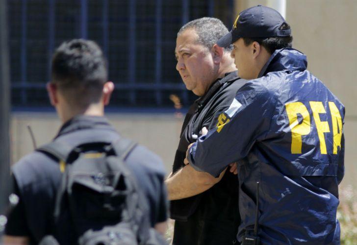 D'Elía fue arrestado en diciembre de 2017.