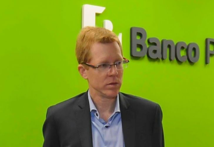 Curutchet, el presidente del Banco Provincia