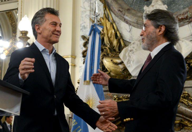Macri encabezó la despedida de Abad de la AFIP.