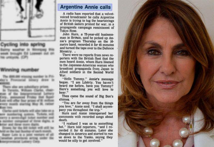 Silvia Fernández Barrio fue la voz detrás de