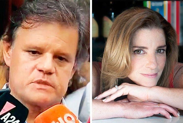 Dolor. Quique Sacco, pareja de Pérez Volpin, espera la verdad.