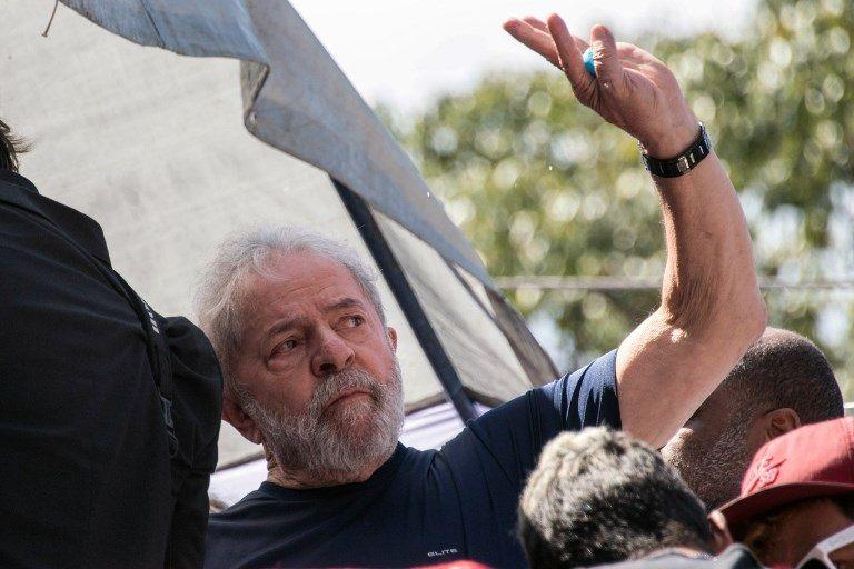 Lula Da Silva, en las horas previas a su detención.