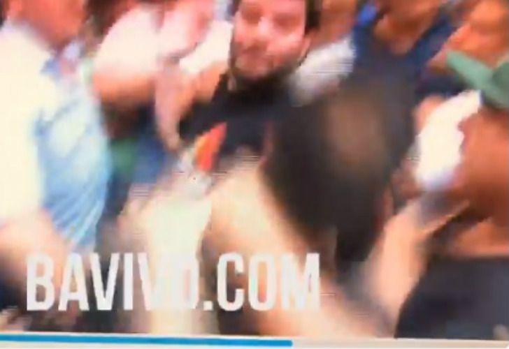 El periodista Jorge Moure denunció agresiones de la seguridad del PJ.