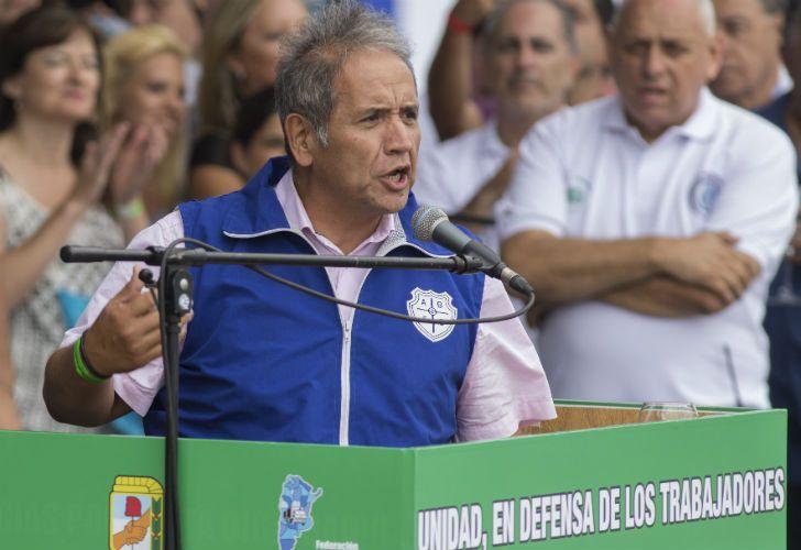 El secretario general del gremio bancario, Sergio Palazzo, confirmó que realizarán dos días de paro.