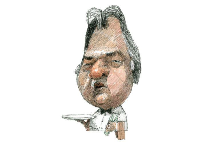 MARCHE UN INTERVENTOR Luis Barrionuevo DIBUJO: PABLO TEMES