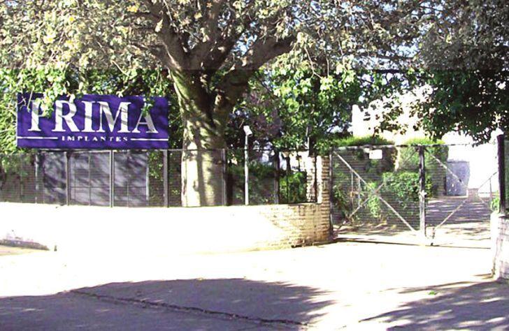 PRIMA IMPLANTES. La fábrica investigada se encuentra en la calle Vieytes 1331 en barrio San Rafael.
