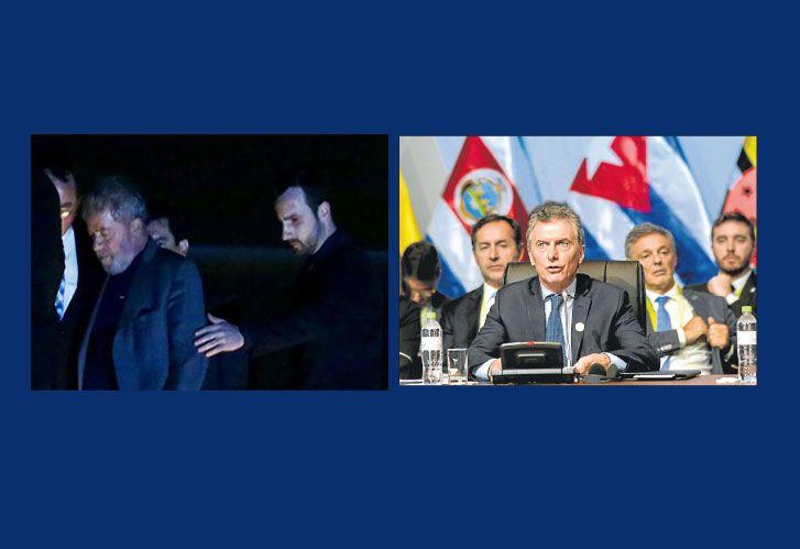 Lula preso y Macri en peru, en la Cumbre de las Américas. Argentina es la promesa de la región.