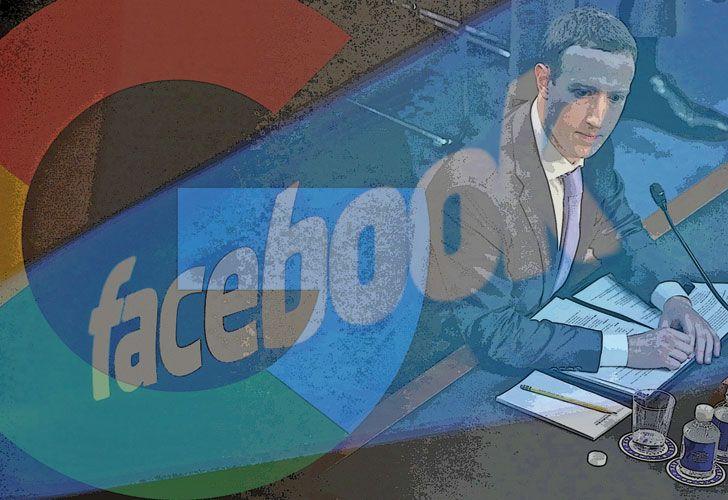 ZUCKERBERG. Fue al Congreso por la filtración de datos. El problema de fondo no es ése, sino la posición dominante de FB.