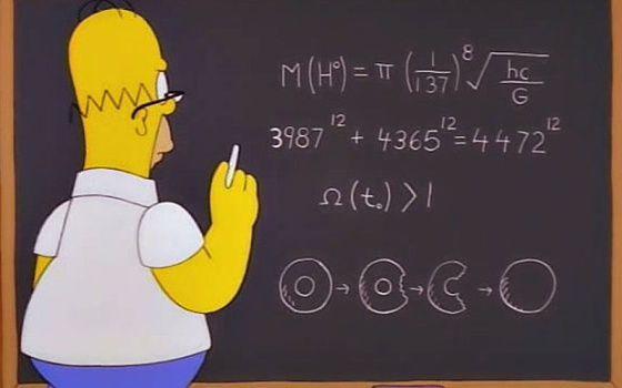 """LIBRO. """"Todo lo que aprendí de ciencia mirando Los Simpson"""", es el título del libro de Sánchez."""
