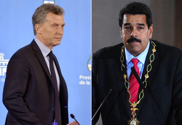 Maduro definió a Macri como