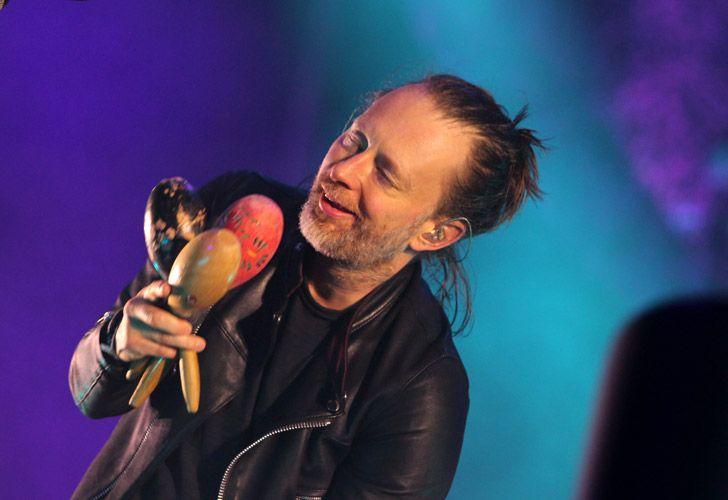 Radiohead.La banda se presentó la noche del Sábado en Tecnópolis, donde asistieron mas de 36.000 personas