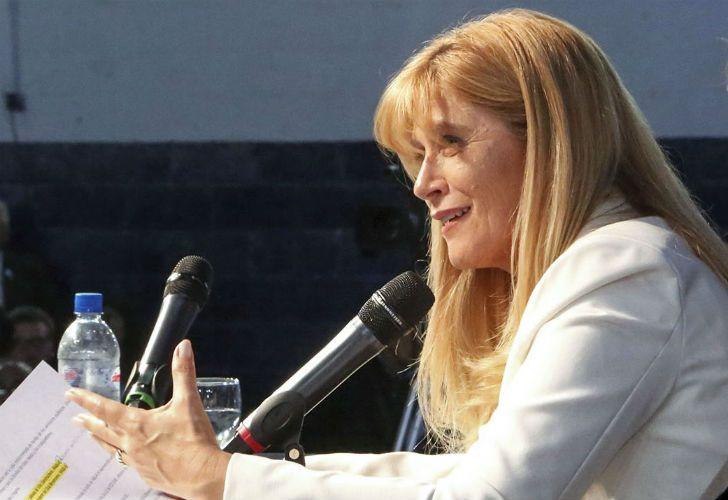 La intendente de la Matanza, Veronica Magario, reclamó más uniformados en su partido.