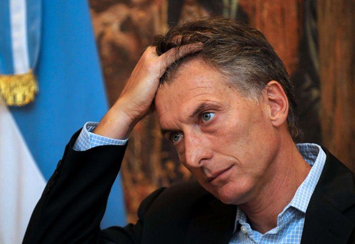 Mauricio Macri Pensativo