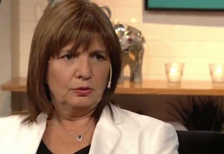 En Holanda hoy dicen que es un narcoestado — Patricia Bullrich