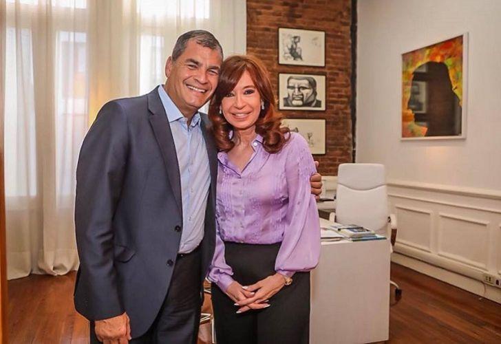 Cristina y Correa, en un mano a mano íntimo