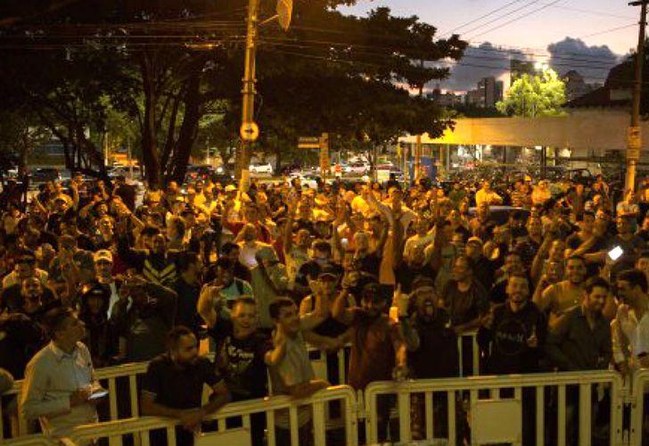 Los festejos de Maroni por la detención de Lula (3)
