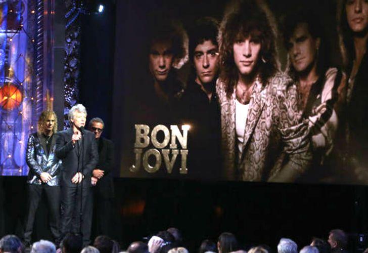 Bon Jovi, nuevo miembro del Salón de la Fama del Rock.