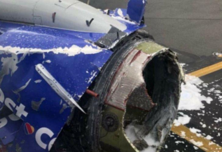 Explosión en pleno vuelo 20180417