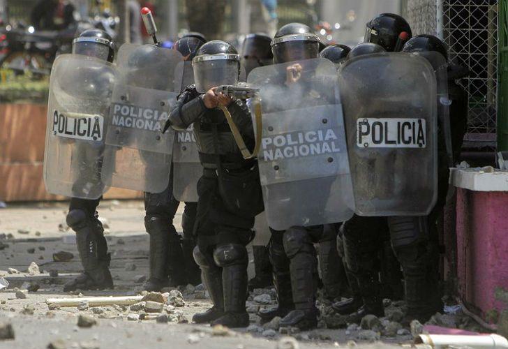 Hubo violentas protestas en Nicaragua.