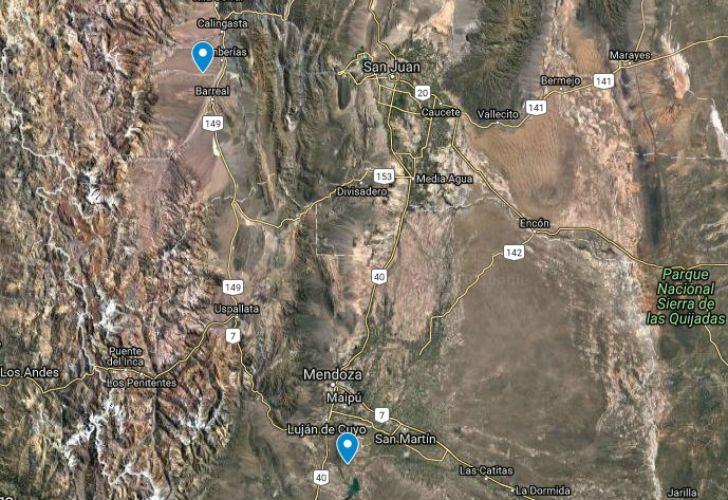 Un fuerte temblor se sintió en Mendoza