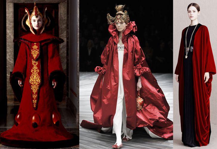 Padme Amidala - Alexander McQueen (2008) - Alexander McQueen (2013)