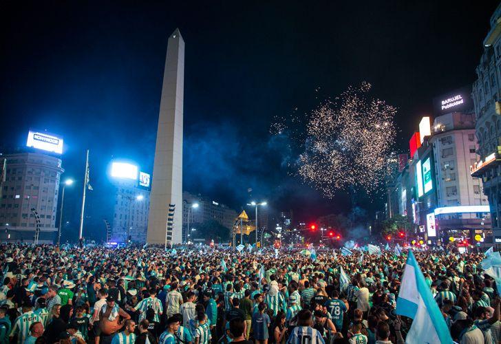 racing celebrations obelisk