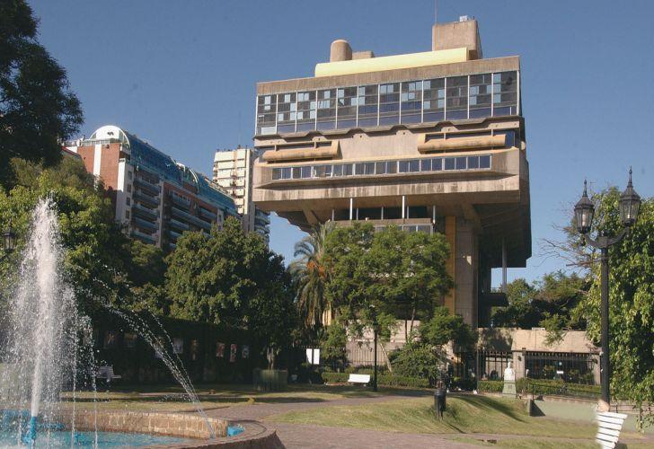 La Biblioteca Nacional ubicada en la Ciudad de Buenos Aires