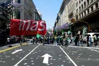 Cuáles serán los cortes de tránsito por la marcha de la CGT