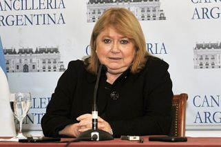 Canciller Susana Malcorra.