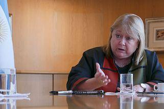 Soberanía. La canciller afirmó que la relación con el Reino Unido va más allá de Malvinas, pero aclaró que en ese punto tienen una diferencia profunda.