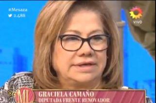 Graciela Camaño tuvo una fuerte discusión con Dady Brieva.