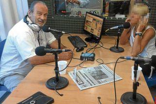 Siga siga. Horacio García Belsunce conduce el programa De frente por Radio X de Pilar (1).
