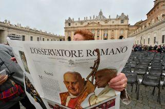 Lanzamiento de L'Osservatore Romano en Argentina