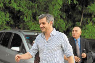 Referentes. Marcos Peña, Rodríguez Larreta y Vidal fueron los principales oradores del acto que se realizó en el barrio de Saavedra.