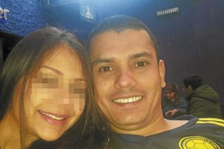 Preso. El joven colombiano de 32 años fue detenido junto a una mujer en Aeroparque.