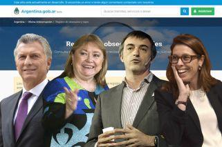 Macri, Malcorra, Bullrich y Alonso