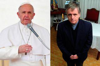 Papa Francisco y el Padre Grassi