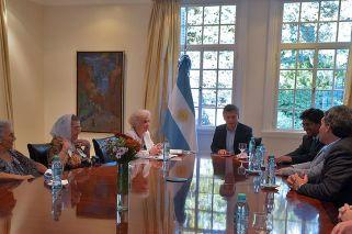 Mauricio Macri recibió apenas comenzó su gestió a los organismos de derechos humanos.