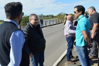 Inundación   El intendente de Salto afirmó que el agua comenzó a bajar