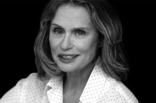 Lauren Hutton, musa de ropa interior a los 73