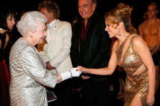 Kylie Minogue… ¿se suma a la realeza británica?