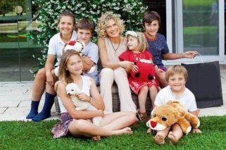 """Maru Botana se confiesa en familia: """"Mis hijos son mi orgullo"""""""