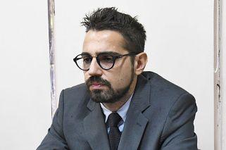 Condenado. Pablo García Aliverti, ayer, al escuchar la sentencia del tribunal oral 6 de San Isidro.