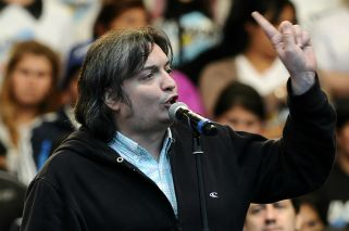 El diputado Máximo Kirchner.